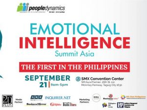 Emotional Intelligence Summit Asia 2018: Be A Game Changer @ SMX Convention Center Aura, SM Aura Premier, 26th cor. McKinley Pkwy., Taguig City | Taguig | Metro Manila | Philippines
