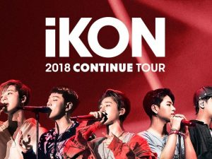 iKON Continue Tour LIVE in Manila This November! @ Mall of Asia Arena | Pasay | Metro Manila | Philippines