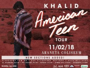The Great Khalid: American Teen Tour 2018 in Manila!