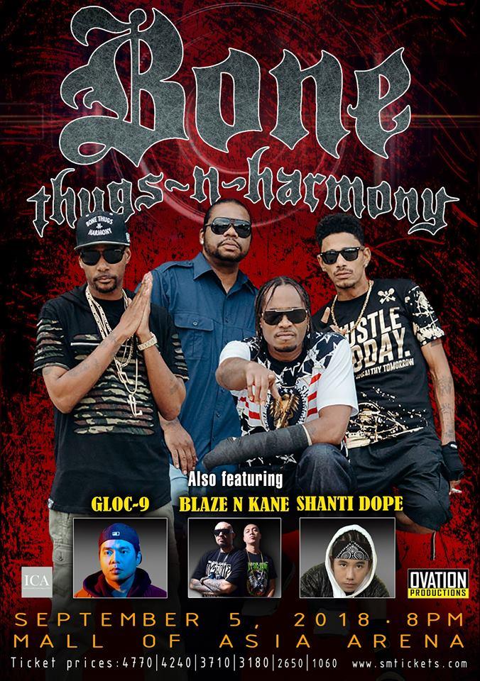 Bone Thugs-N-Harmony Live in Manila 2018 | Philippine Primer