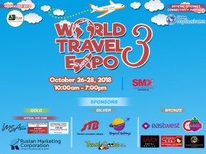 World Travel Expo 2018 Happens This October 26 to 28