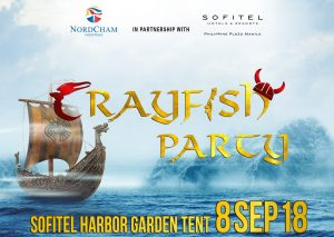 Crayfish Party 2018: Camaraderie between the Filipino and Nordic Community @ Sofitel Philippine Plaza Manila | Pasay | Metro Manila | Philippines