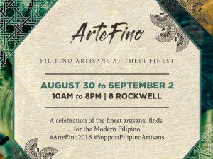 ArteFino Fair 2018 @ 8 Rockwell | Makati | Metro Manila | Philippines