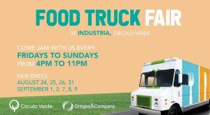 Circulo Verde Food Truck Fair: A Weekend of Food Adventure @ Industria, Circulo Verde | Quezon City | Metro Manila | Philippines