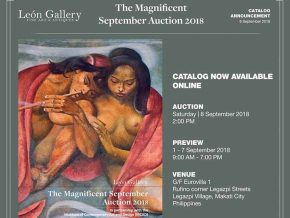 Leon Gallery's The Magnificent September Auction 2018