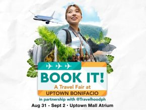 Book It! A Travel Fair At Uptown Bonifacio this Aug 31 to Sept 2