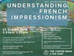 Art Appreciation Talk: Understanding French Impressionism