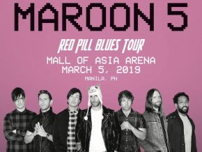 Maroon 5 Returns to Manila this 2019 for Red Pill Blues Tour