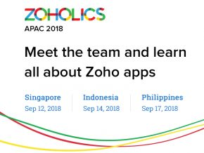 Zoholics: APAC 2018 in Makati This September 17
