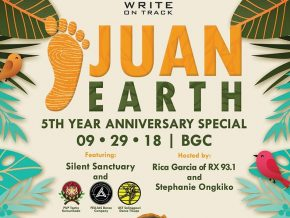 Juan Earth in BGC This September 29