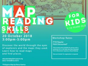 Map Reading Skills Workshop for Kids at the Ayala Museum