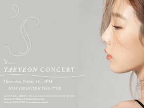 Taeyeon's Solo Concert in Manila Is Happening on December 14