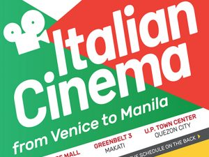 Watch Selected Movies from the Venice International Film Festival This November 14 to 18 @ Central Square in Bonifacio Global City, Taguig, Greenbelt 3 in Makati, and UP Town Center in Quezon City