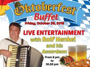 Oktoberfest 2018 at Santis Deli-Cafe, Silang Cavite: A Feast of German Buffet and Rolf Henkel Music