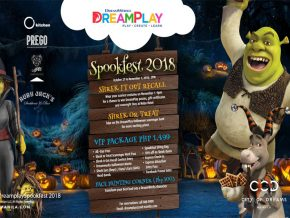 Celebrate Spookfest 2018 at DreamPlay This Oct 27-Nov 1!