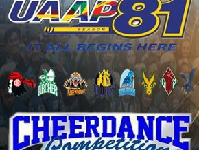 UAAP Cheerdance Competition 2018 Is Happening on November 17 at the MOA Arena