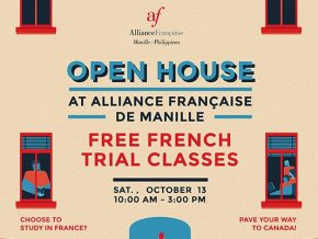 Alliance Française de Manille's Open House Will Have Free French Trial Classes this October 13
