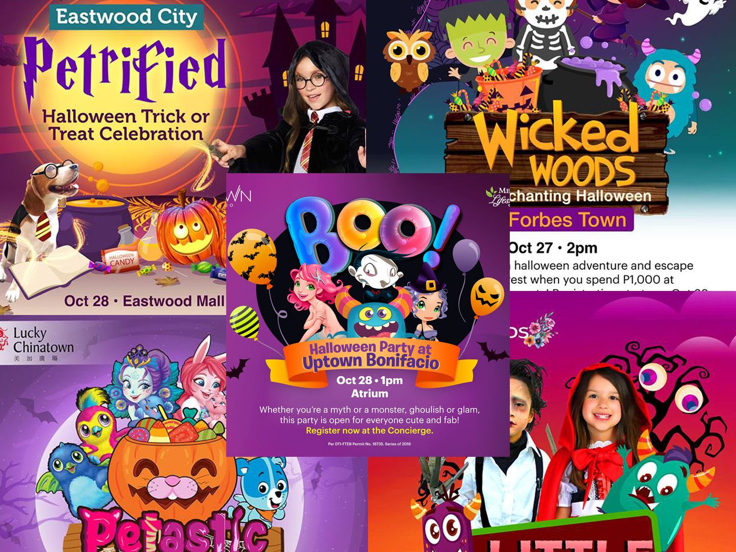 list: magical and enchanted halloween celebrations for kids around