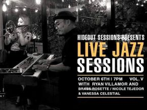 Ikomai in Salcedo Village, Makati Presents Hideout Live Jazz Sessions Vol. 5