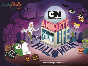 Animate Your Life This Halloween with Cartoon Network in BGC This October 28