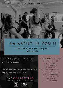 Manila Workshops' the Artist in You II Brings Out Performance Training For All @ Silver Pod Studio | Manila | Metro Manila | Philippines
