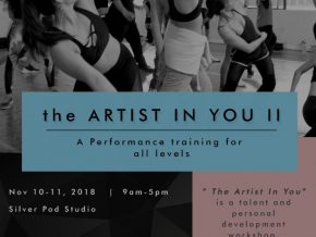 Manila Workshops' the Artist in You II Brings Out Performance Training For All