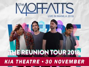 The Moffats Returns to Manila for Reunion Tour this November 2018