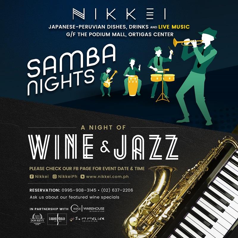 Jazz and Samba Nights: A Series of Live Latin Music Nights at Nikkei