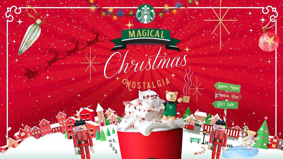 Christmas Season 2019 Starbucks PH To Reveal The 2019 Planners at the Magical Christmas
