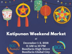 Katipunan Weekend Market in BGC to Showcase Local Products This December 1 and 2