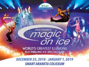 Witness Steve Wheeler's Magic on Ice Starting December 25!