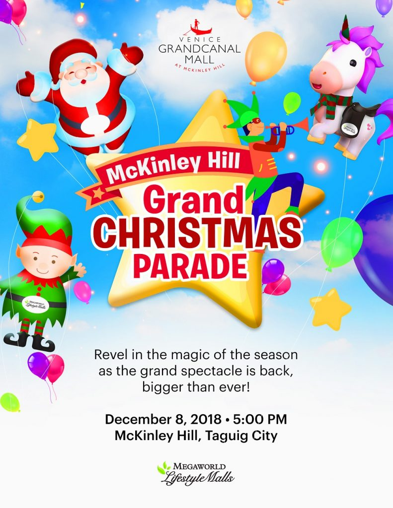 Venice Christmas Parade 2019 Venice Grand Canal in Taguig Welcomes Holiday 2018 with an Amazing
