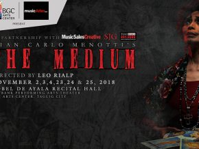 Catch Gian Carlo Menotti's The Medium This November 23 to 25