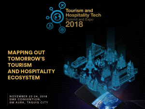 Enderun Colleges to Host Tourism and Hospitality Tech Summit and Expo 2018 on November 23 and 24 @ SMX Convention Center SM Aura | Taguig | Metro Manila | Philippines