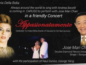 Appassionatamente in Caruso: Ilaria Della Bidia and Jose Mari Chan This November 8