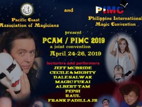 The First Philippine International Magic Convention Is Set on April 2019