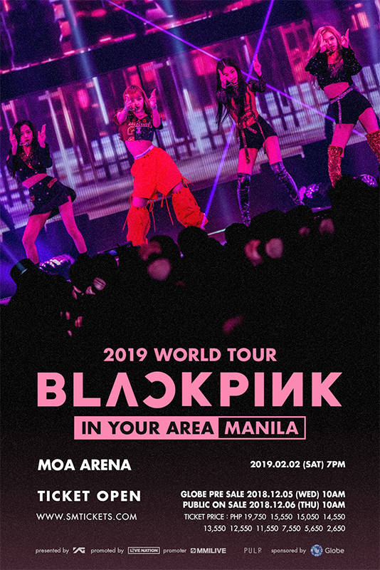 Blackpink World Tour In Manila This Coming February 2019