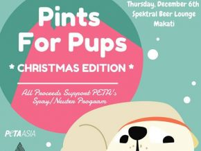 PETA Asia's Pints for Pups Christmas Edition: A Beer for a Cause