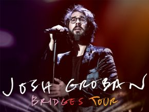 Josh Groban: Bridges Tour in February 2019 at SM MOA Arena