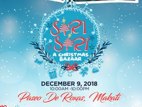 Makati Street Meet: Sari-Sari Christmas Bazaar Happening This December 9