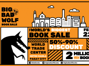 Big Bad Wolf Book Sale Returns to Manila This February 22 to March 4!