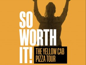 Yellow Cab Pizza Tour to Kick Off This January 5