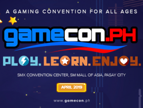 The Biggest GameCon PH is Happening on April 2019!