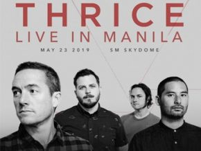 Thrice Debuts First-Ever Concert in Manila This May 3