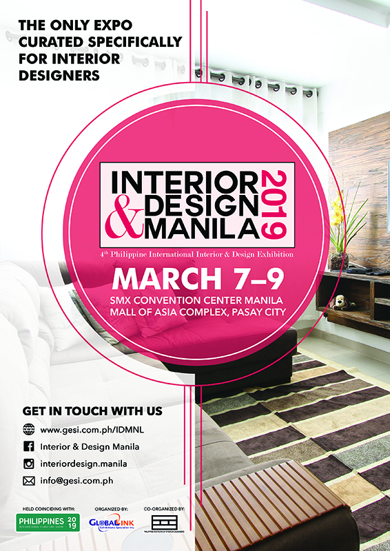 Interior And Design Manila Takes On Resilient Design This March At Smx Moa Philippine Primer