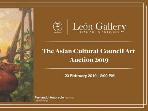 The Asian Cultural Council Art Auction 2019 Happening on February 23