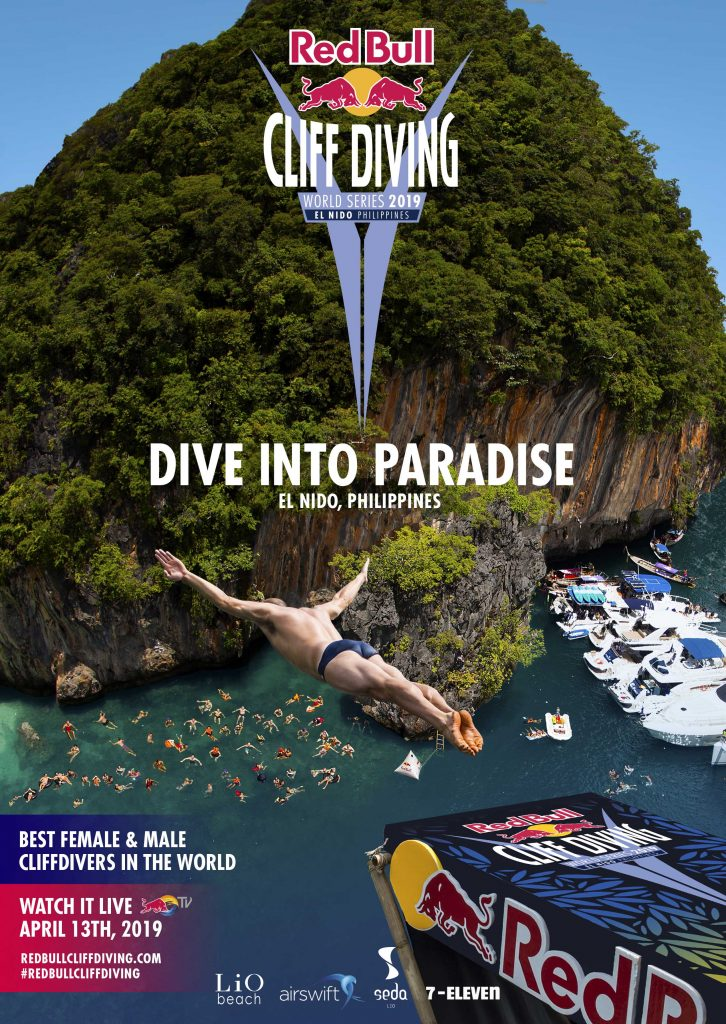Red Bull Cliff Diving World Series 2019 Makes Its First Stop in PH ... 36164a1059ea2