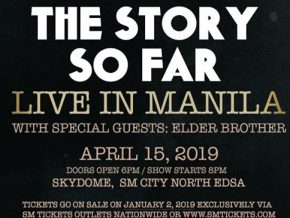 The Story So Far with Elder Brother LIVE in Manila