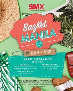 Bazket Manila: Bazket+Bazaar 2019 @ SMX Manila