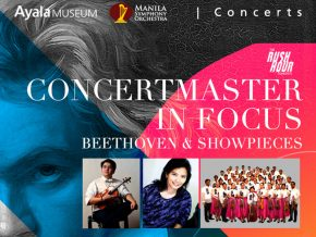 Concertmaster in Focus at Ayala Museum: Beethoven Performed by the Manila Symphony Orchestra